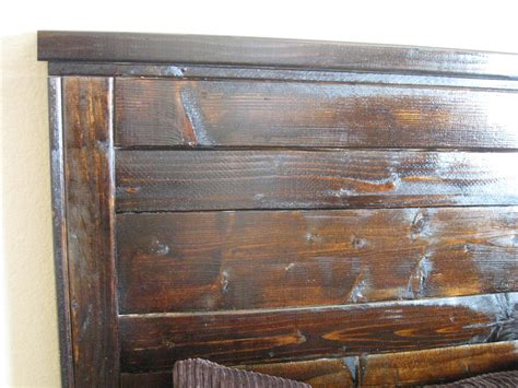 Reclaimed Wooden Headboards by White Reclaimed Wood Headboard Diy Projects