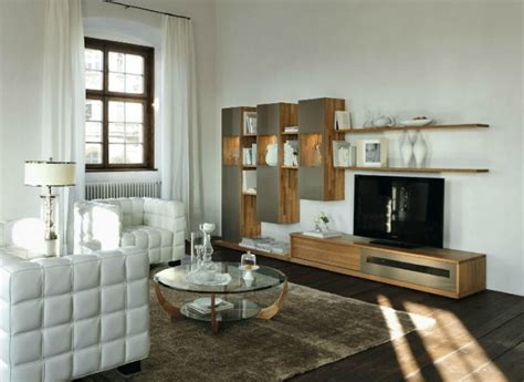 Low Storage Units Living Room by Wooden Furniture In A Setting