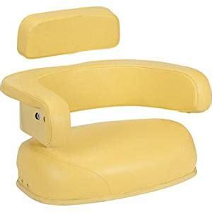 garden tractor seat cushion deere replacement cushion seat yellow