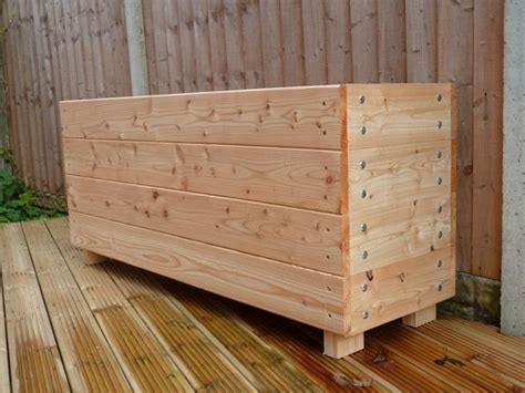 Large Wooden Planter Boxes by Best 25 Large Planters Ideas On Large Outdoor