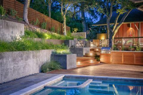 outstanding contemporary landscaping ideas  garden