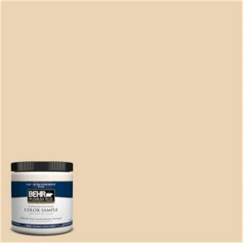 behr premium plus 8 oz icc 93 chagne gold interior exterior paint sle icc 93pp the
