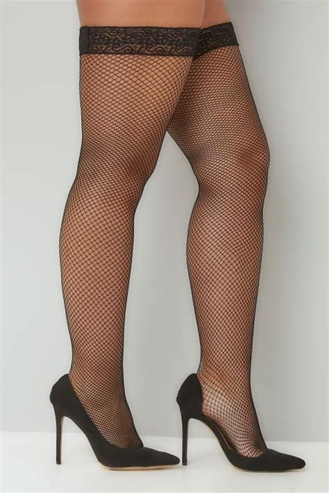 best 32 in tv for 200 black fish net lace top hold ups