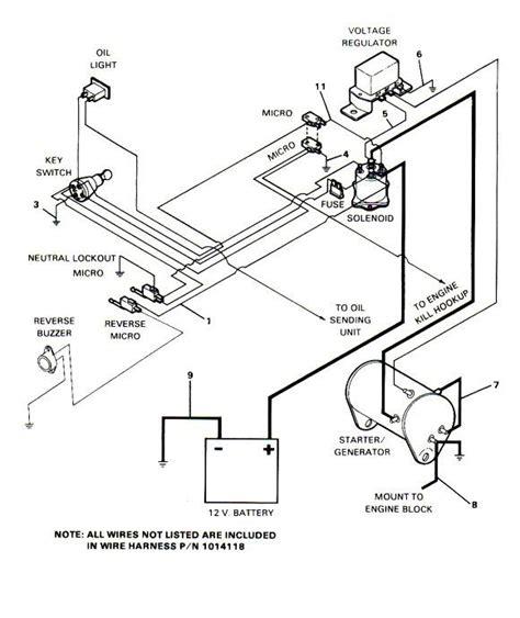 wiring diagram ez go gas powered golf cart wiring diagram