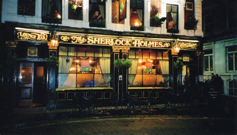 the pub literary tourism sherlock