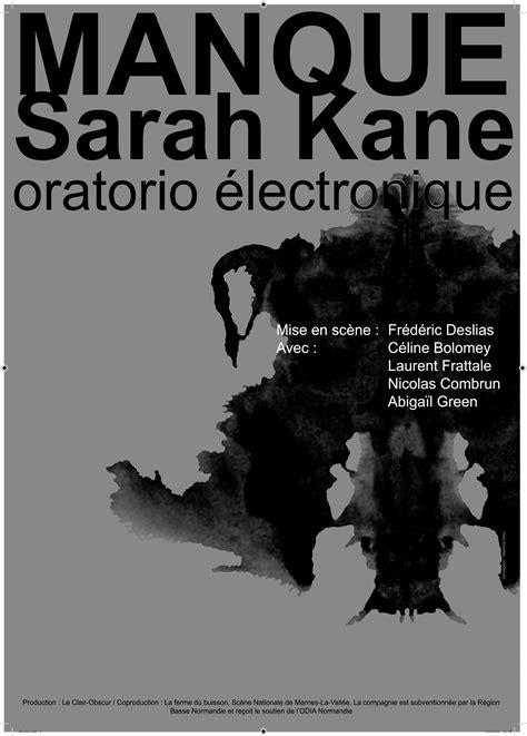 #LeClairObscur » Manque(Sarah Kane) / Oratorio