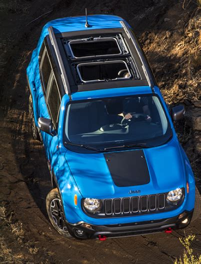 jeep renegade sunroof first spin 2015 jeep renegade the daily drive