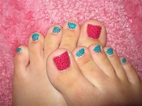 Painted Toe Nail Designs toenails painted designs how you can do it at home