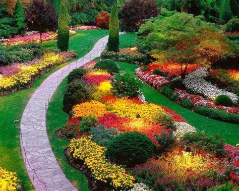 imagenes de flores y jardines jardin con flores patios y jardines