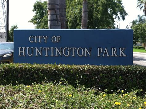 huntington park panoramio photo of huntington park city sign