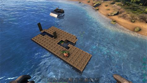 ark motorboat base steam community guide my super awesome extended raft