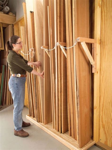25 best ideas about lumber storage on lumber