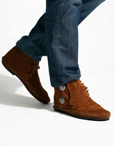 minnetonka boots mens the world s catalog of ideas