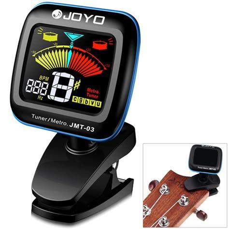 joyo lada joyo tuner gitar dengan display lcd berwarna jmt 03