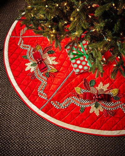texas tech christmas tree skirt mackenzie childs tea kettles rugs placemats at neiman horchow