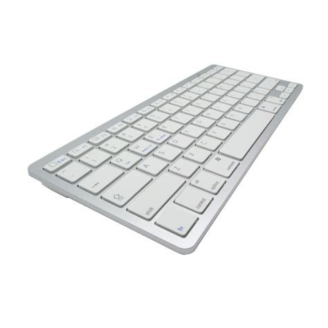 Keyboard Bluetooth Android Ios Pc Ultra Slim Murah ultra slim bluetooth keyboard ios android pc white jakartanotebook