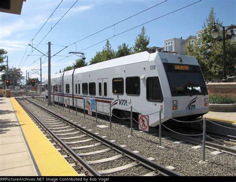 Photos Santa Clara Vta Light Rail Aug 31 Santa Clara Lights