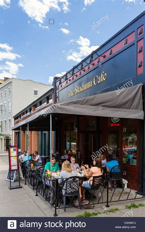 the stadium cafe on broadway in downtown saratoga springs