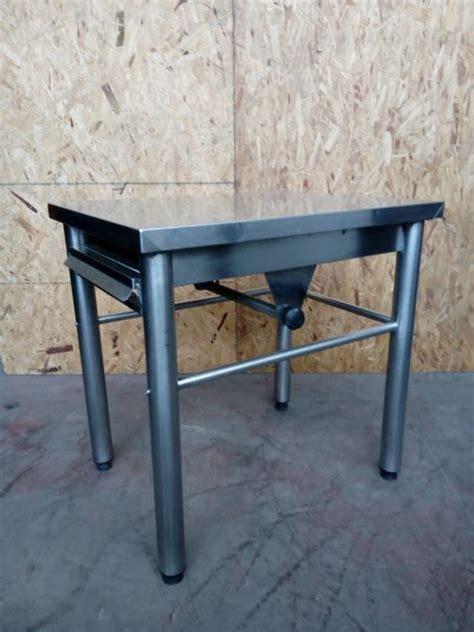 tavoli in acciaio inox usati stunning tavoli acciaio usati gallery acrylicgiftware us