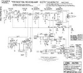 fender princeton reverb amp b1270 schematic kb 225 pps