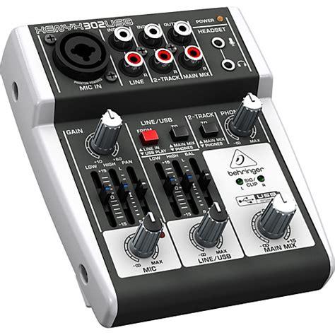 Audio Mixer Belt Up behringer xenyx 302usb mixer musician s friend