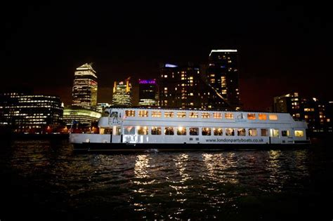 party boat cruise london m v jewel of london