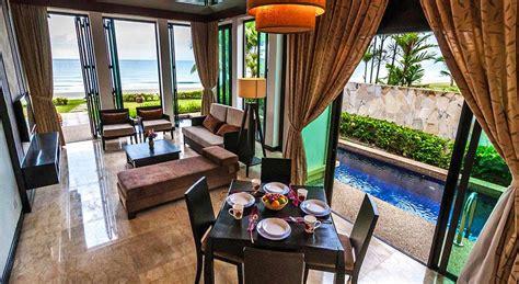 pool in room hotel malaysia luxury hotel with pool villas borneo villas sabah