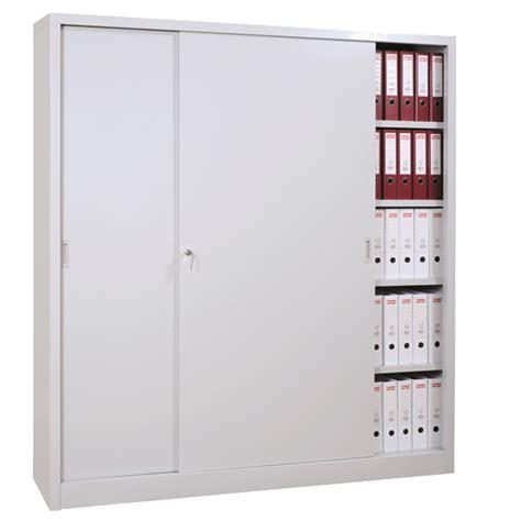 Armoire Metallique De Bureau by Armoire Haute M 233 Tallique 224 Portes Coulissantes Armoires