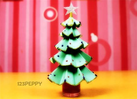how to make glittering christmas tree online 123peppy com