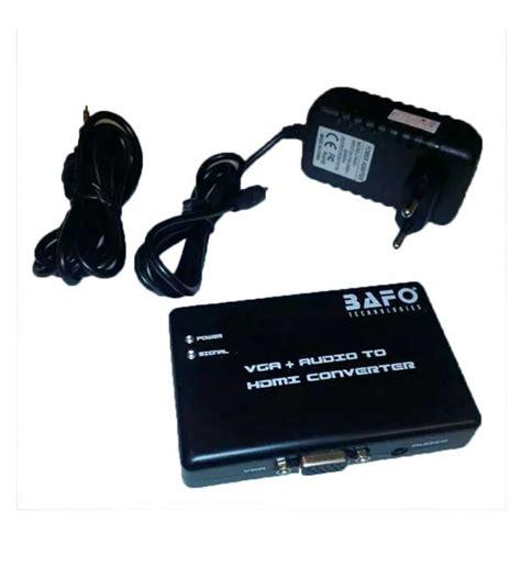 bafo bf h101 vga audio to hdmi converter