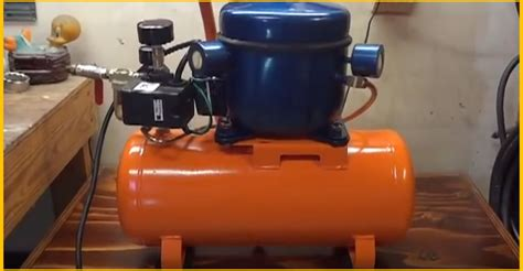 diy silent air compressor from broken one to almost new brilliant diy