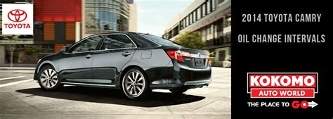 Toyota Camry Synthetic Change Interval How Often To Change In 2014 5 Toyota Camry Autos Post