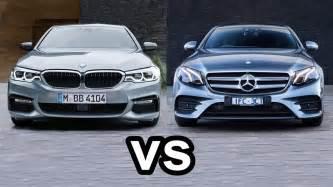 Bmw 5 Series Or Mercedes E Class 2017 Bmw 5 Series Vs 2017 Mercedes E Class