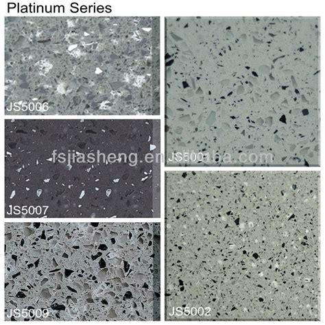 sparkle black artificial quartz kitchen countertop cheap
