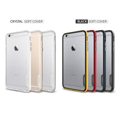Spigen Hardcase For Iphone 6s Plus 6s Gold spigen neo hybrid ex iphone 6 plus with inner bumper and reinforced