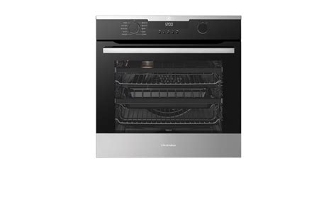 Euromaid Cooktops 60cm Multifunction 10 Pyrolytic Wall Oven Evep614bb
