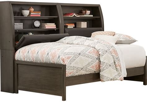 rooms to go daybed santa gray 5 pc bookcase daybed daybeds colors