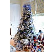 Disney Themed Christmas Tree Ideas Snowman
