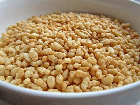Rice krispies bowl bubbles rice krispies into