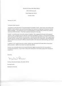 Nursing faculty letter of recommendation