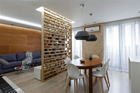 ukrainian apartment interiors musician a lesson in delineating space without walls modern