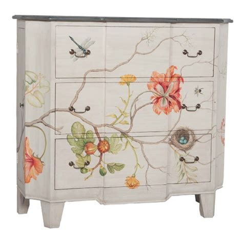 Handpainted Dresser by Best 25 Floral Painted Furniture Ideas On