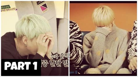 bts embarrassed seventeen woozi and bts suga second hand embarrassment