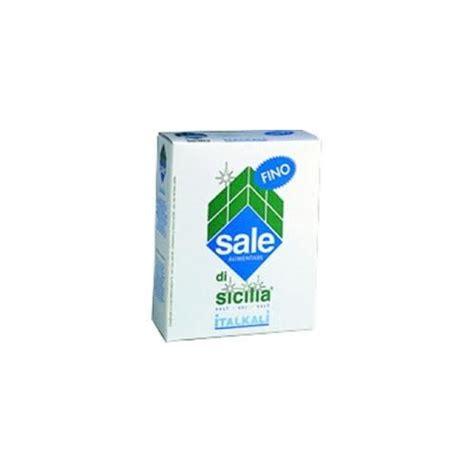 sale alimentare sale alimentare di sicilia fino italkali kg 1 t mart