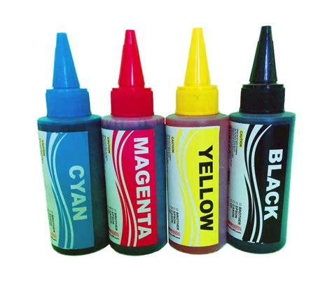 Tinta Printer Hp 100ml 4 Warna Dye Photo Ink tinta 100 ml made in korea depotoner