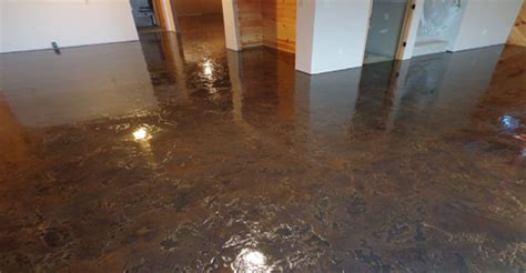 stained basement floors concrete restoration systems