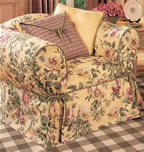waverly sewing pattern slipcover cover sofa chair pillow