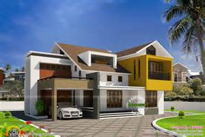 Design Of Home Modern Minimalist Villa In Kerala Kerala Home Design And
