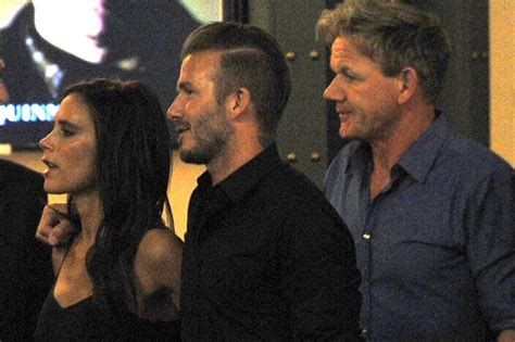 Reunited Posh By Davids Side As He Spends Another Day With Sick by David Beckham And Reunited In Vegas Posh