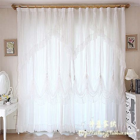 Quality Curtains Quality Curtain Finished Products Lace Curtain White